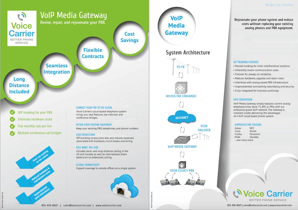 VoIP Media Gateway
