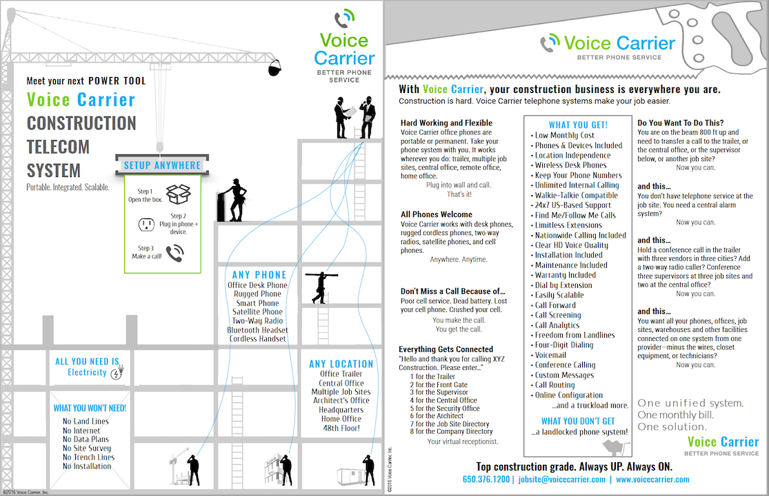 Product sheets voice carrier business phone service for Home telecom